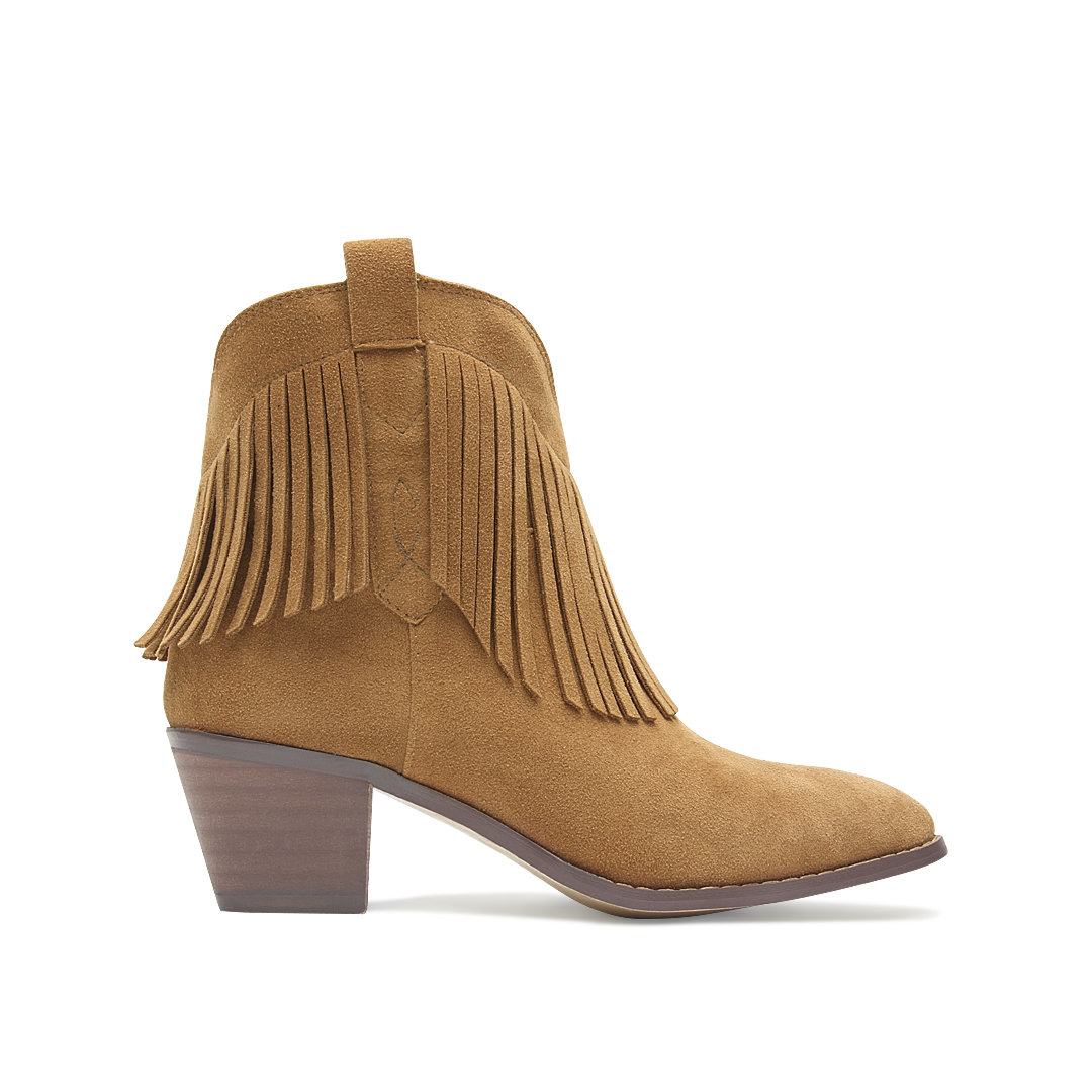 Ugg's tan Wynona ankle boots combine comfort and style in equal measures. Enlivened with fringed accents, this soft suede pair is complete with cozy UGGpure lining. An off-duty staple, style yours with a plaid-print shirt and skinny allshop-eqe0tr01.cf: $