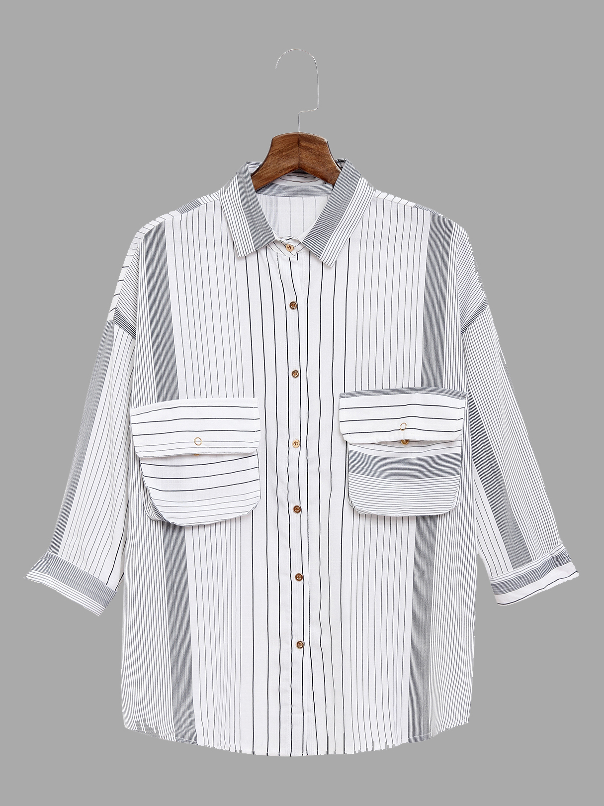 Stripe Pattern Shirt In Sweet design blue stripe pattern shirt in sweet design