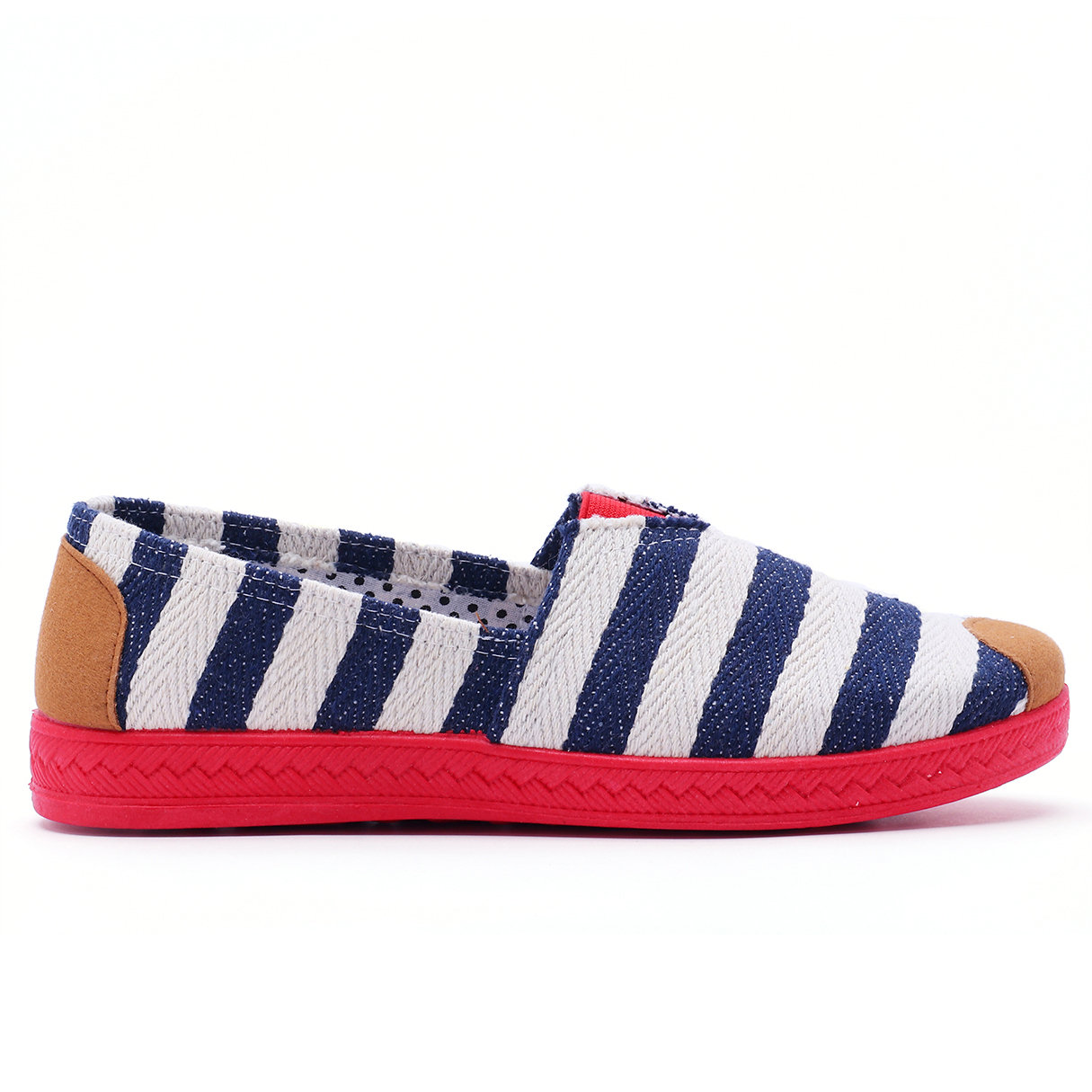 Blue Canvas Stripes Pattern Contract Color Flats contract damages domestic and international perspectives