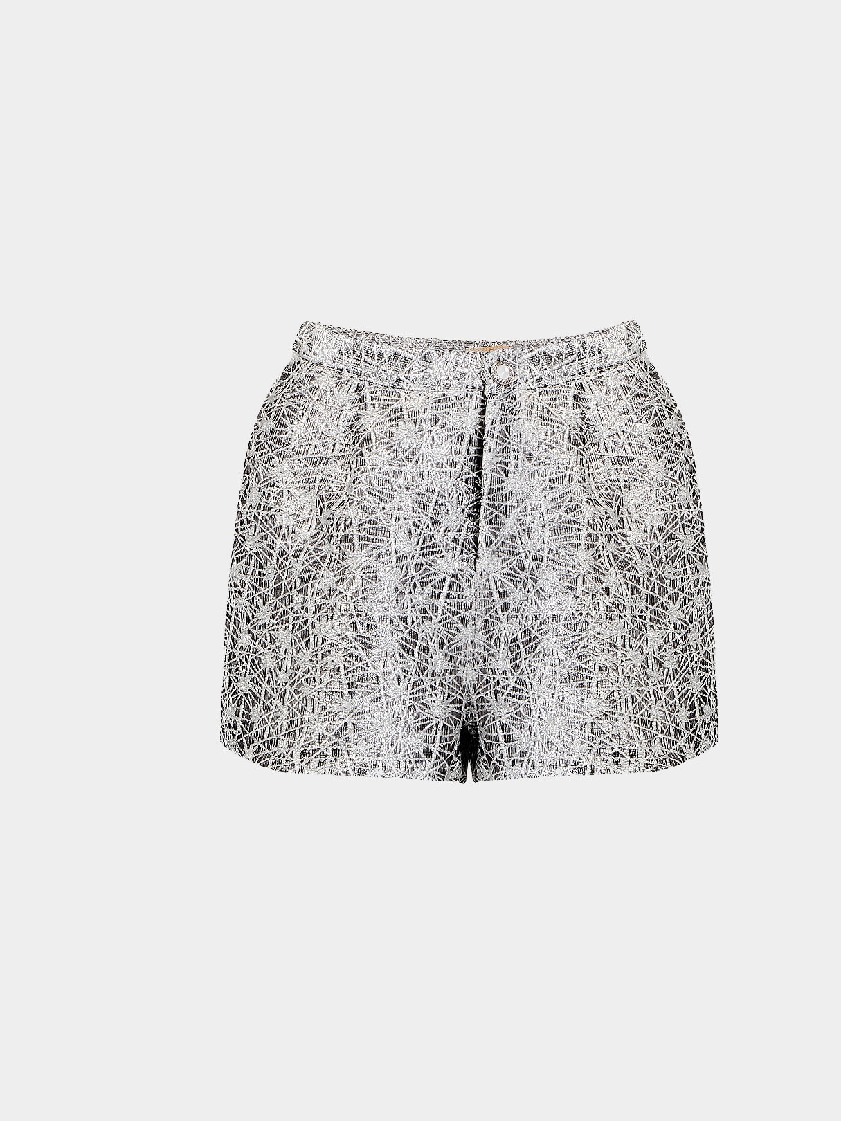 Fashion Sequin High Waist Shorts