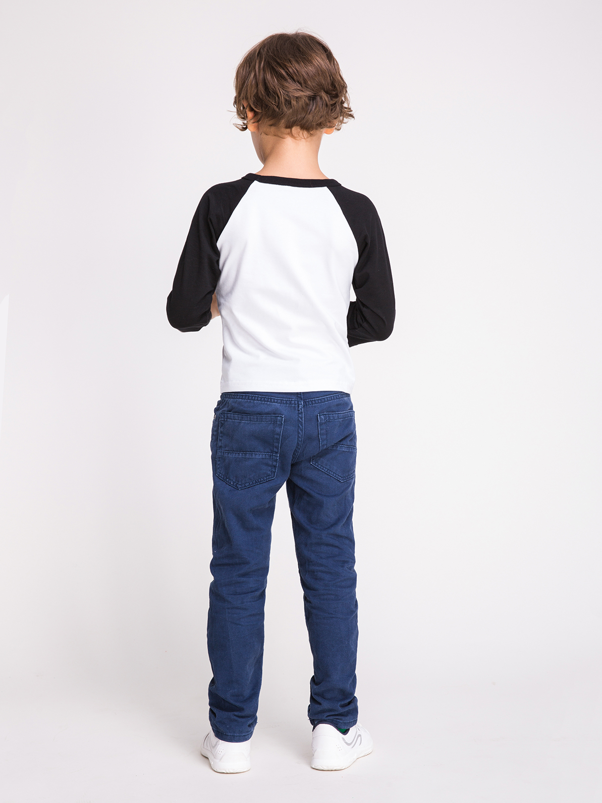 Mommy and Me Letter Pattern Round Neck Long Sleeves T-shirt in Black от Yoins.com INT