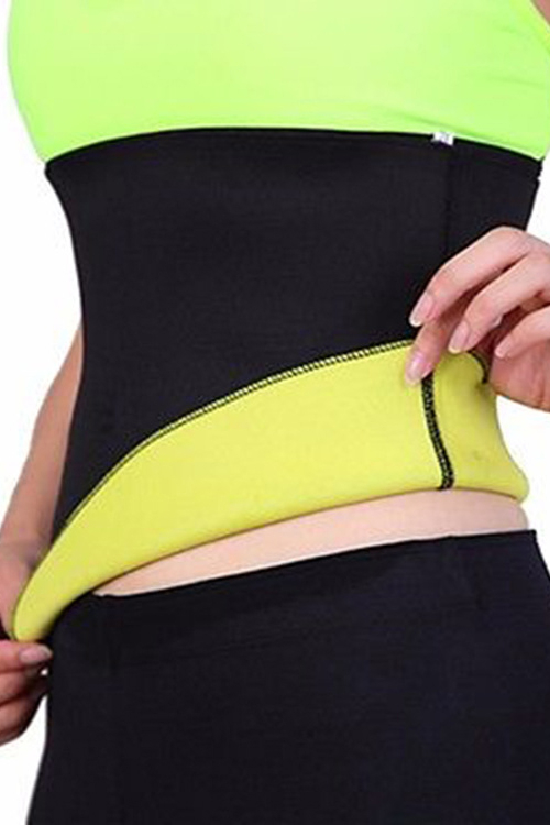 Active Contract Color Waist Belt in Black thesocial contract