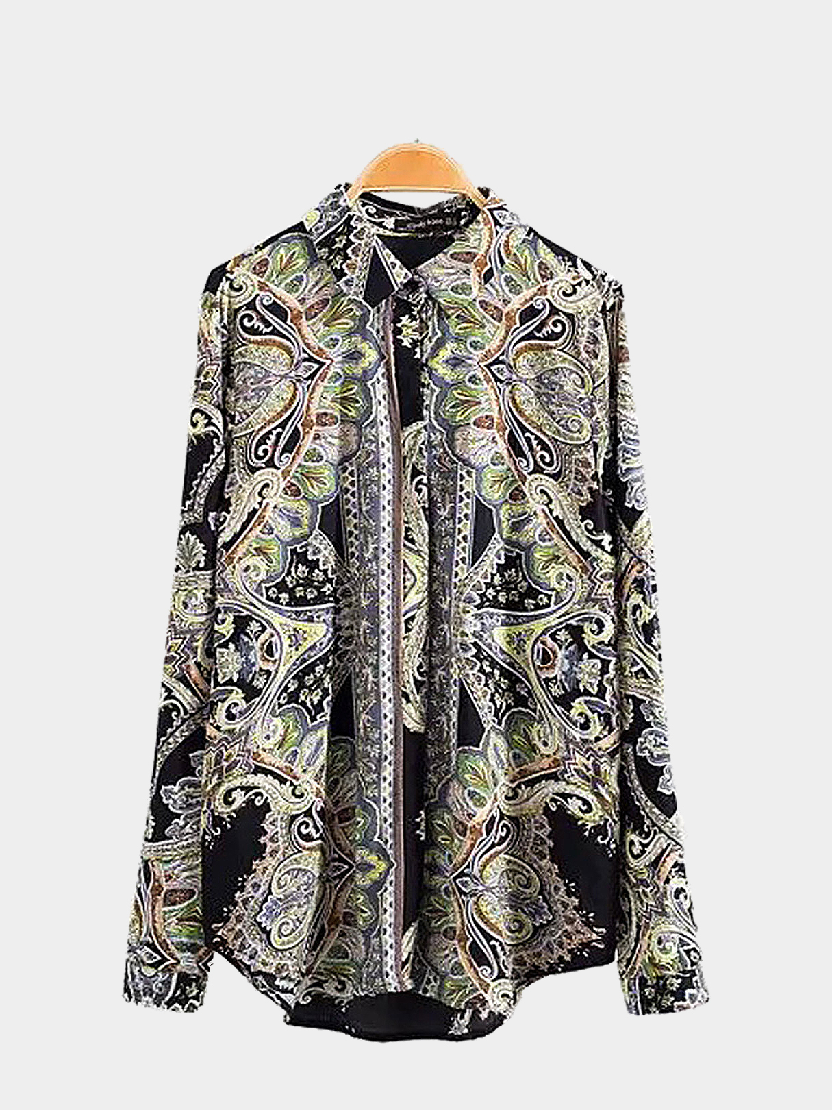 Vintage Printing Long Sleeves Shirt managing projects made simple
