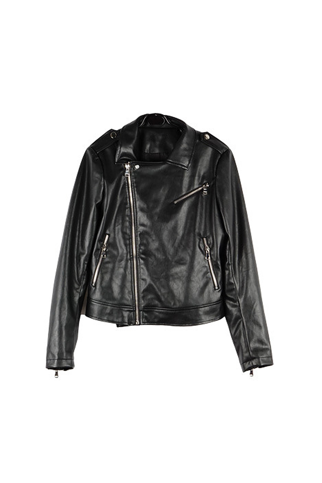 Tassel Leather Jackets with Zipper