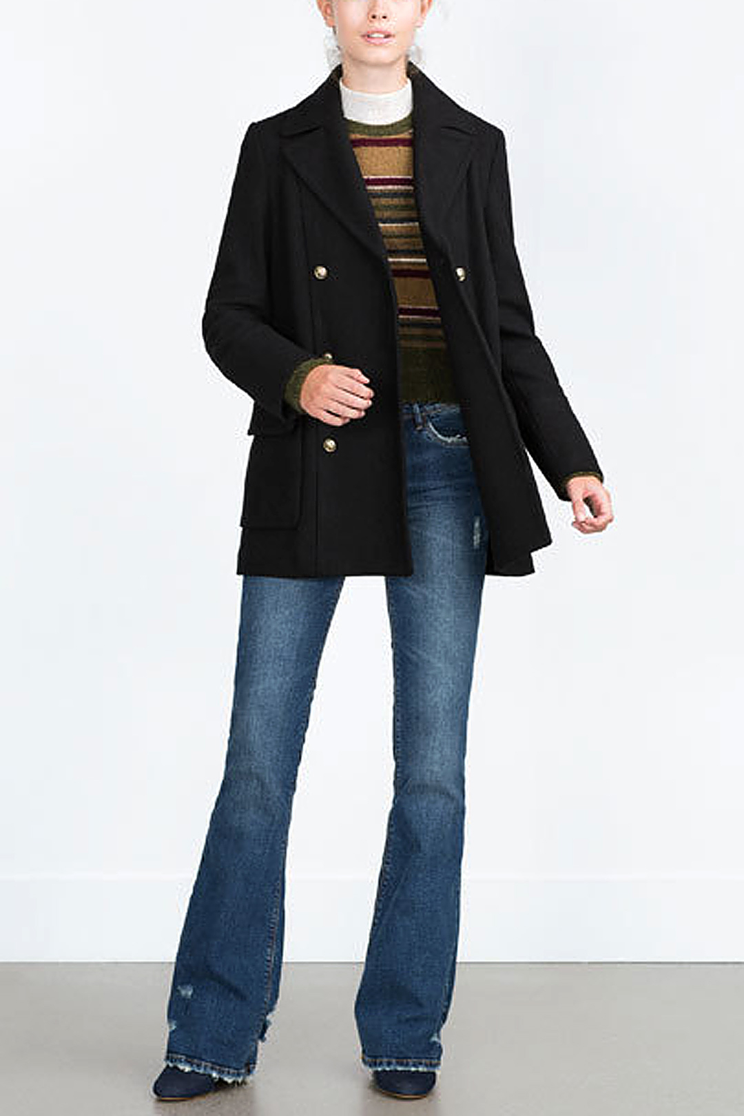 Duffle Coat with Double Breasted