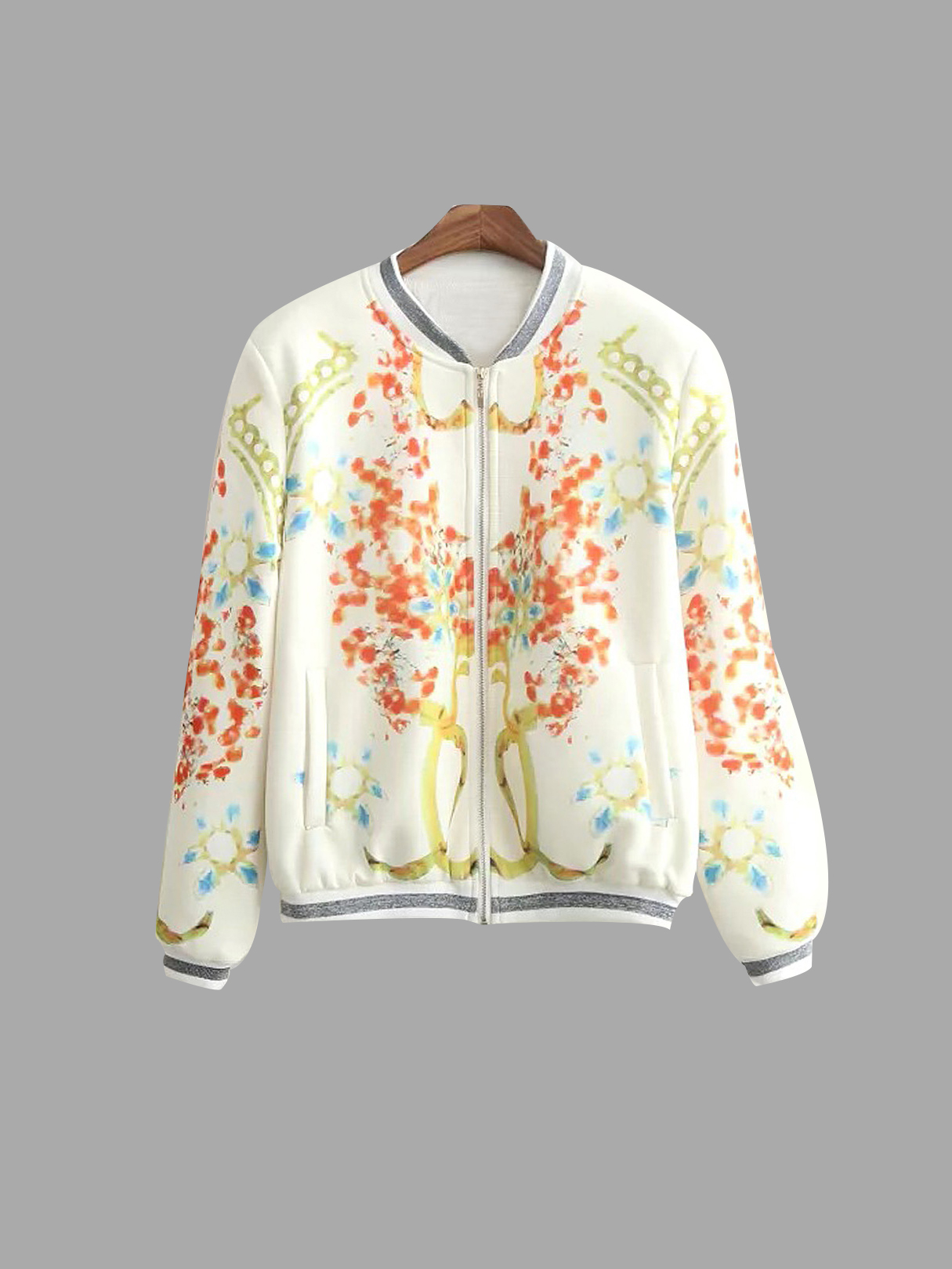 Digital Print Fashion Jacket